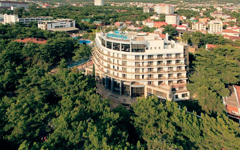 Пансионат Приморье Геленджик Санаторий-отель primorye hotel 4 Фото номера цены 2020